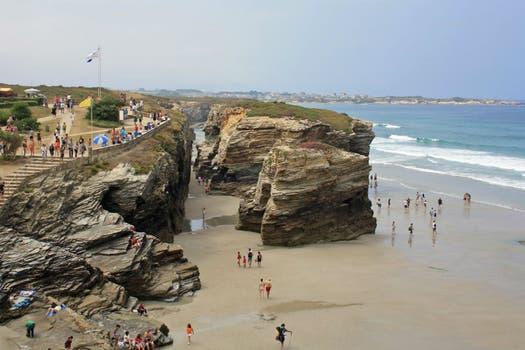 6. Playa de las Catedrales, Ribadeo - España.