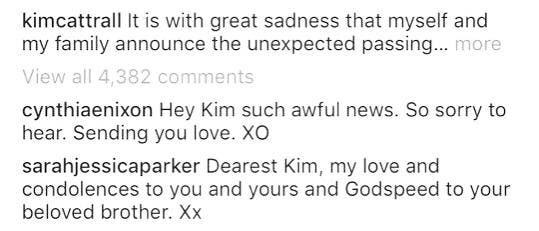 El mensaje de Sarah Jessica Parker a Kim Cattrall