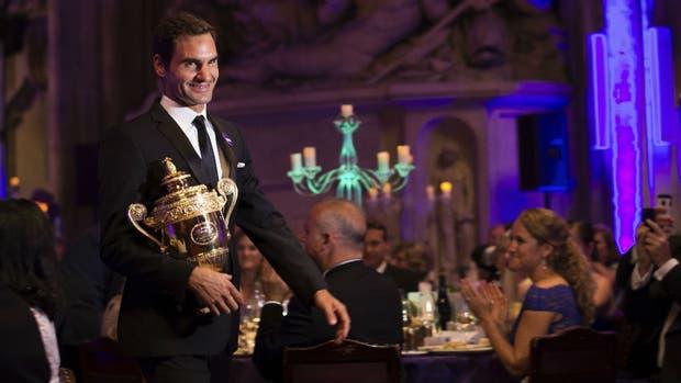 Federer, anoche