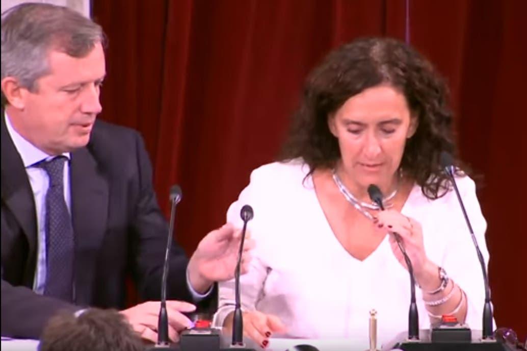 El blooper de Gabriela Michetti en la apertura de las sesiones ordinarias