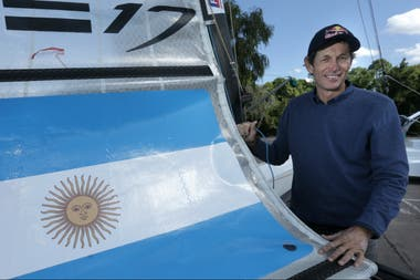 """Lange: """"Lo lógico era retirarse, pero disfruto de lo que hago. Me gusta el desafío, me gusta navegar"""""""