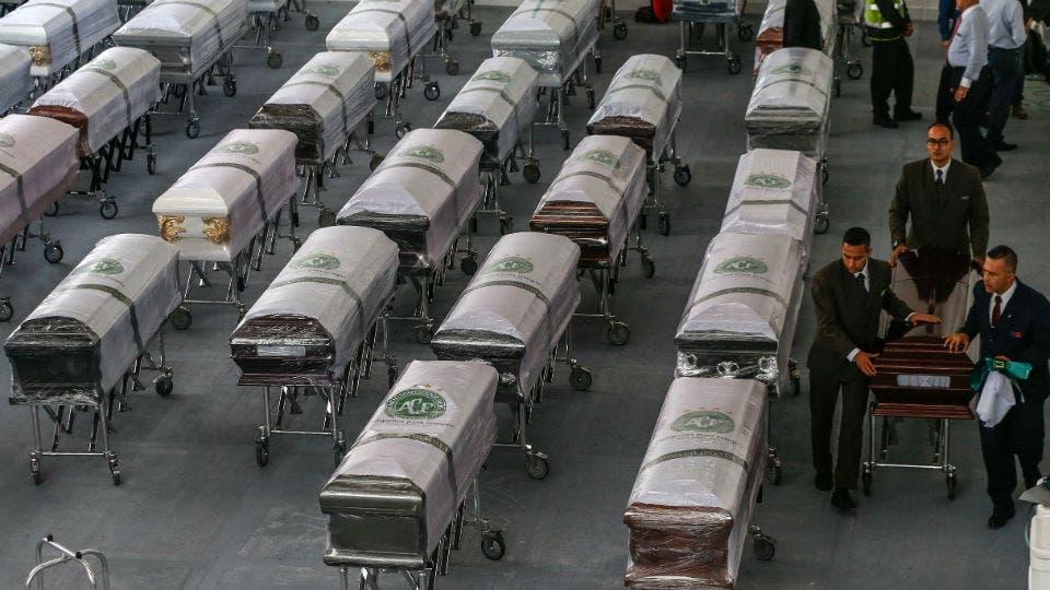 Accidente de Chapecoense. Cómo será el velatorio de mañana al que irán 100 mil personas