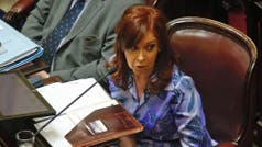 Investigan llamadas telefónicas de Cristina Kirchner