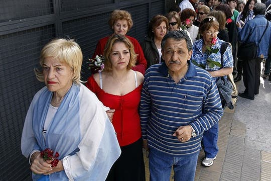 El homenaje de sus seguidores. Foto: Reuters
