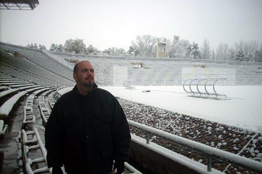 Estadio mundialista de Mendoza. Foto: Pablo Javier Perez Delgado