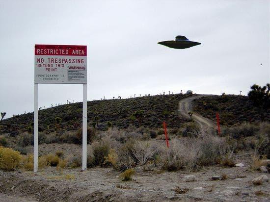 Área 51. Desierto de Nevada (EE UU)La base militar secreta menos secreta del mundo mundial.