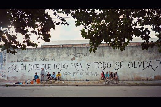 Acción Poética Tartagal, Salta. Foto: Facebook