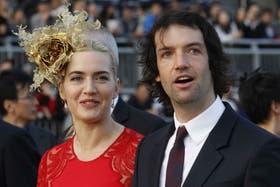 Kate Winslet con su marido, Ned RocknRoll
