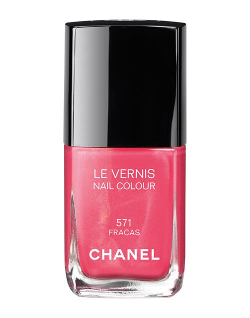 Le Vernis color Fracas ($180, Chanel).