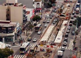 Sobre la avenida Cabildo ya comenzaron los trabajos