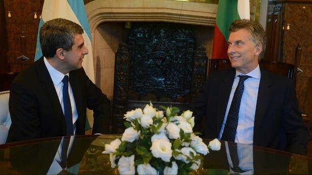 Macri y Plevneliev estuvieron reunidos en Casa de Gobierno
