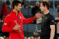 El gesto deportivo de Andy Murray que Novak Djokovic agradeció en Twitter