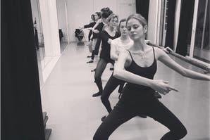 5 minutos de entrenamiento de ballet fitness