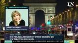 Luisa Corradini desde París tras el ataque a los policías
