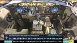 El brazo robot que puede pilotear un avión