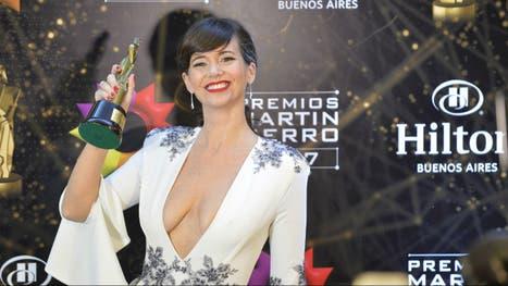 Griselda Siciliani, feliz con el Martín Fierro por su doble actuación en Educando a Nina