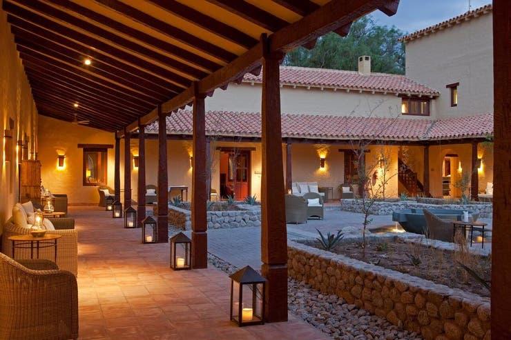 El hotel de la Bodega Colomé.