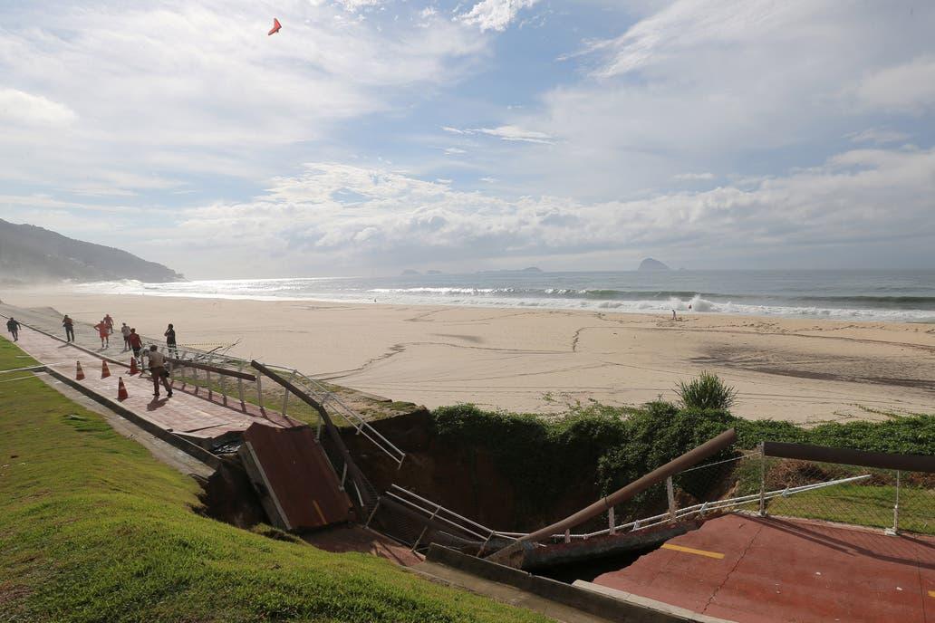 Cuatro fallecidos tras fuertes lluvias en Río de Janeiro