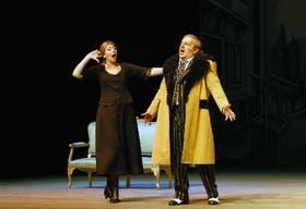 Paula Almerares y Ricardo Ortale, dúctiles cantantes e intérpretes para sus Norina y Don Pasquale, respectivamente