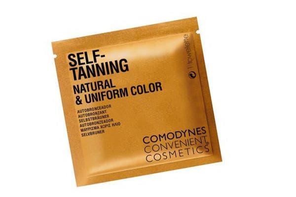 Toallitas autobronceantes que dan un bronceado uniforme. Foto: www.makeupinsiders.com/