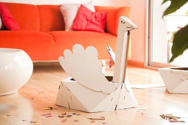 Los juguetes de cartón para armar, de Karton Karton.  /Gentileza Karton Karton