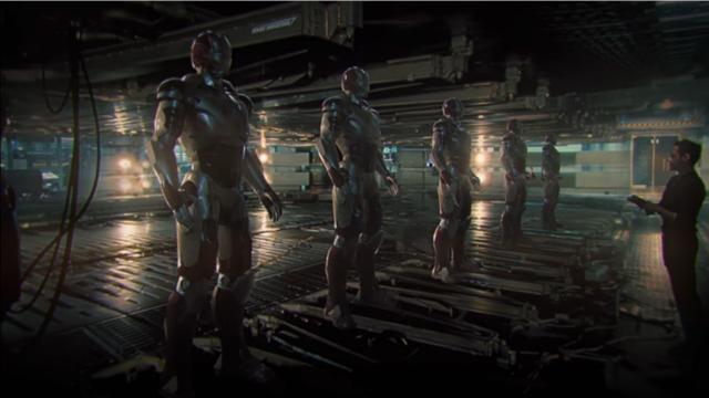En la nueva película, Tony tendría un nuevo taller con más armaduras de Iron Man.