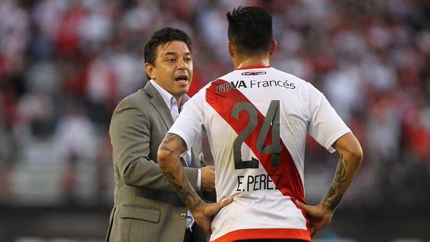 Como a otros titulares, Marcelo Gallardo reservó el domingo a Enzo Pérez, que juega hoy