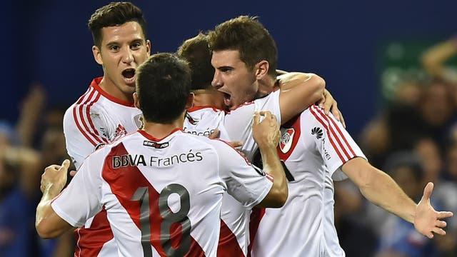 Otro festejo: River celebró su tercer triunfo al hilo en la Copa