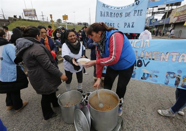 Barrios de Pie suspendió la protesta con ollas populares prevista para mañana