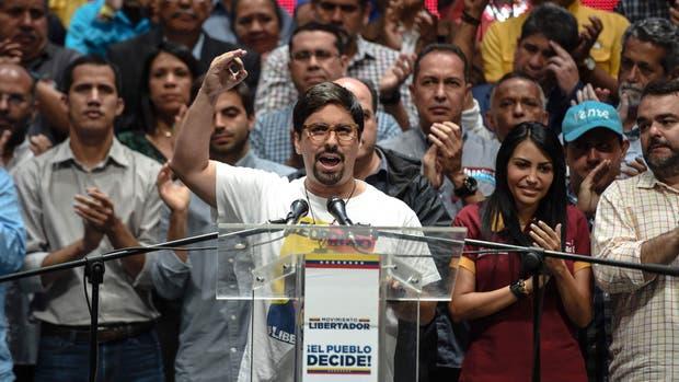 El vicepresidente de la Asamblea Nacional, Freddy Guevara, anunció el plan de la oposición