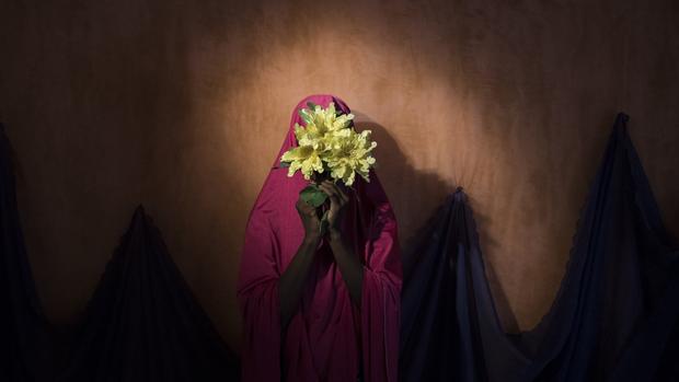 Una chica nigeriana identificada como Falmata B., de 15 años
