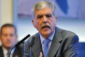 El ministro de Planificación, Julio De Vido