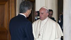 El Papa recibirá a Macri el 15 de octubre