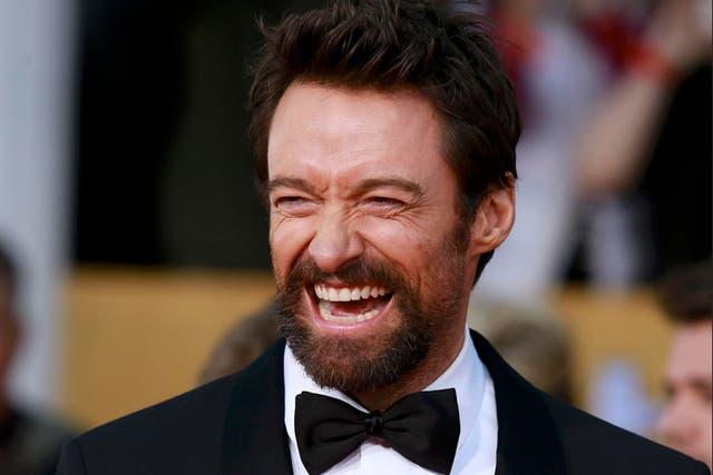 ¿Se imaginan a Hugh Jackman vestido de payaso?