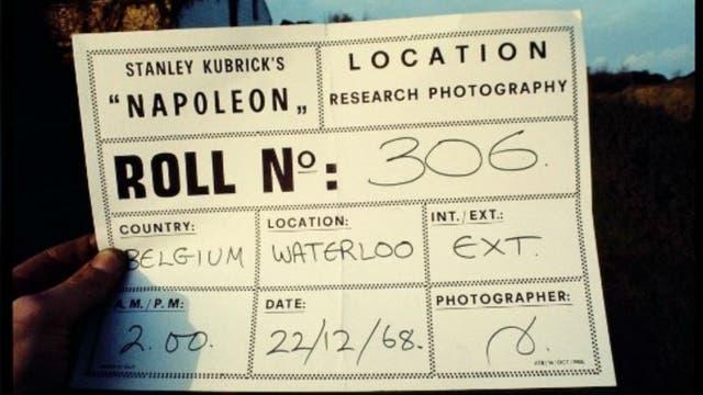 Napoleón y el rodaje que quedó trunco