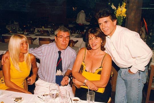 """Por su trayectoria y personalidad, Badía se llebaba muy bien con todos en el medio; de ahí su frase en Los Martín Fierro 2012: """"Me cuesta encontrar enemigos"""". Foto: Archivo"""