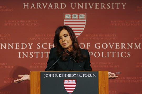 Dijo que nunca hubo tanta libertad de expresión como ahora. Foto: Reuters