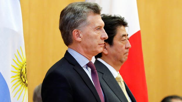 El presidente Mauricio Macri se reunió hoy con el primer ministro Shinzo Abe en Tokio
