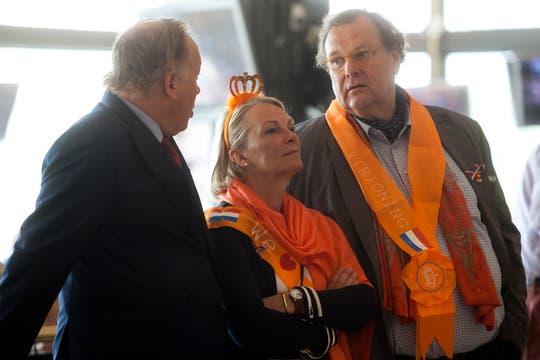 El Hipódromo de Palermo se vistió de gala para la ceremonia de asunción de los nuevos reyes de Holanda. Foto: LA NACION / Ezequiel Muñoz