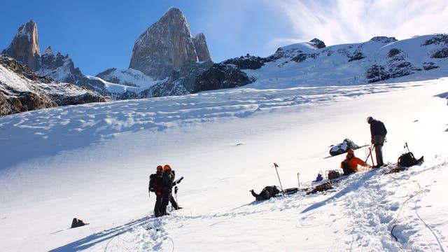 Glaciar De Los Tres. El Chaltén. Santa Cruz