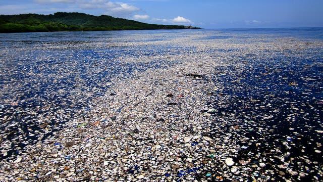 Un mar de basura en el Caribe