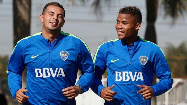 Cardona y Barrios, una de las duplas colombianas de Boca