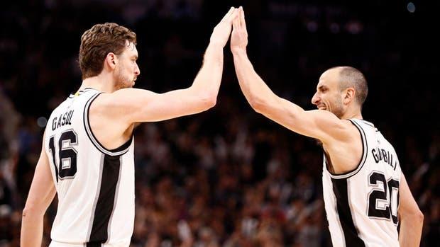 Pau Gasol renueva por tres años con los Spurs