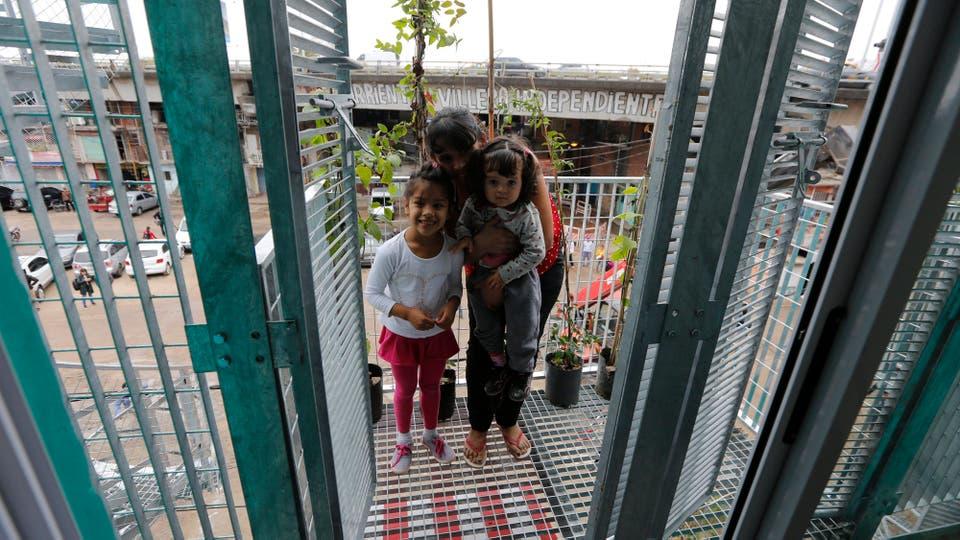 Algunas viviendas requieren el refuerzo de paredes y losas;. Foto: LA NACION / Ricardo Pristupluk