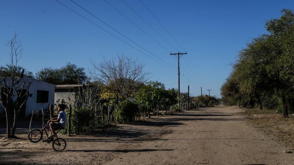Guanaco Muerto es uno de los caseríos más pobres de la provincia de Córdoba. Foto: LA NACION / Diego Lima