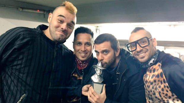 Los Caligaris, ganadores del Gardel a mejor ingeniería de grabación