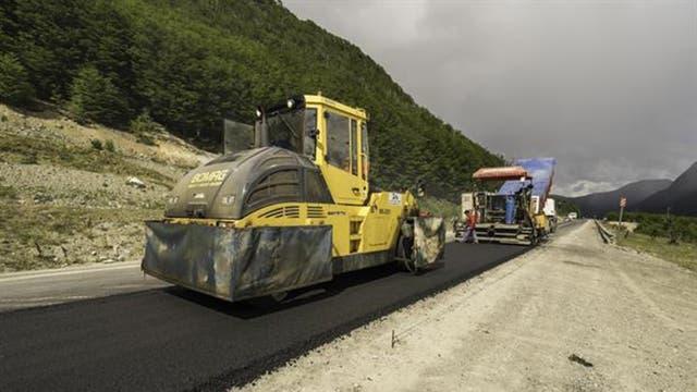La repavimentación de la Ruta Nacional 3 en Tierra del Fuego