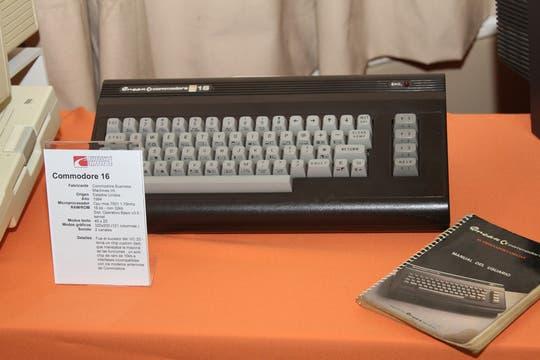 La Commodore 16. Foto: Gentileza Museo de Informática