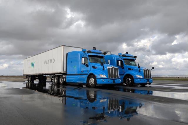 Los camiones sin chofer de Waymo, como los de Uber, comenzará a circular por las rutas estadounidenses