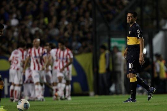 En la vuelta de Riquelme, Unión le ganó 3-1 al equipo de Bianchi en la Bombonera. Foto: LA NACION / Aníbal Greco
